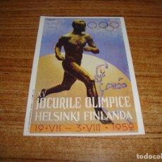 Coleccionismo deportivo: (ALB-TC-200) POSTAL CARTEL OLIMPIADAS 1991. Lote 179342252