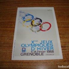 Coleccionismo deportivo: (ALB-TC-200) POSTAL CARTEL OLIMPIADAS 1991. Lote 179342260