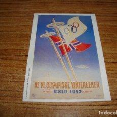 Coleccionismo deportivo: (ALB-TC-200) POSTAL CARTEL OLIMPIADAS 1991. Lote 179342267