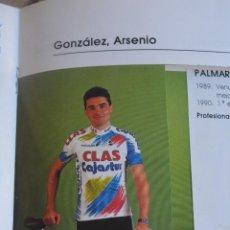 Coleccionismo deportivo: FOTO DEL CLAS TEMPORADA 91.ARSENIO GONZÁLEZ. Lote 183706931