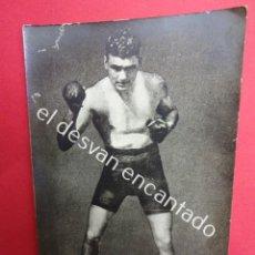 Coleccionismo deportivo: JACK DEMPSEY. BOXEO. BOXEADOR. POSTAL FOTOGRÁFICA ORIGINAL AÑOS 1920S. Lote 183765616