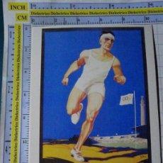Coleccionismo deportivo: POSTAL DE DEPORTES. OLIMPIADAS. JUEGOS OLÍMPICOS. CARTEL AMSTERDAM 1928. VENCA. 1783. Lote 187453660