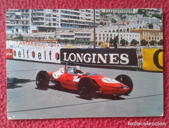 POSTAL OLD POST CARD COCHE CAR AUTOMOVIL FORMULA 1 ? F1 ? AUSTRO V AUTO LONGINES ELF..PILOTO CARRERA (Coleccionismo Deportivo - Postales de otros Deportes )