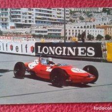 Coleccionismo deportivo: POSTAL OLD POST CARD COCHE CAR AUTOMOVIL FORMULA 1 ? F1 ? AUSTRO V AUTO LONGINES ELF..PILOTO CARRERA. Lote 189134032
