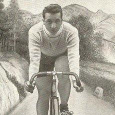 Coleccionismo deportivo: CICLISMO-J. JANER CAMPEON DE ESPAÑA-FONDO 1923-POSTAL ANTIGUA-(66.289). Lote 190987700