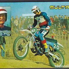 Collectionnisme sportif: POSTAL EDITADA POR BULTACO JIM POMEROY MOTOCROSS 250 CC. Lote 191585903