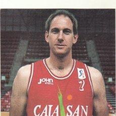 Coleccionismo deportivo: POSTAL JACKSON BALONCESTO CAJA SAN FERNANDO.. Lote 192625996