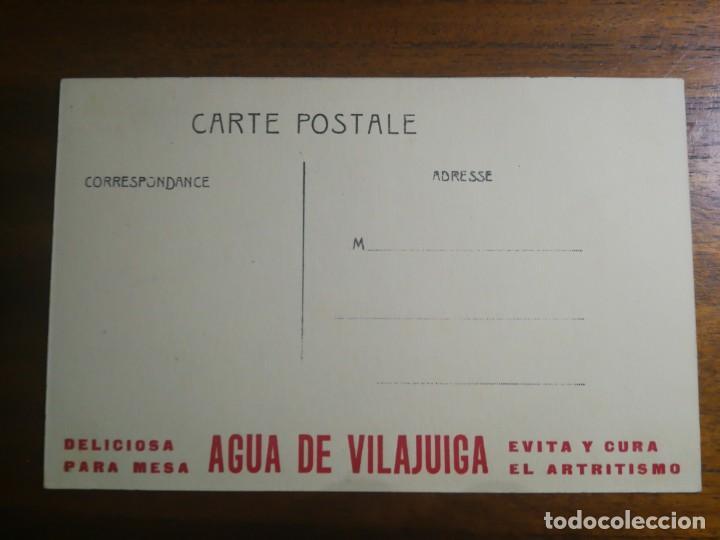 Coleccionismo deportivo: Aviador LINDPAINTNER - Postal Ilustrada sin circular - Modern-Oiseaux - Agua de Vilajuiga - Foto 2 - 192764490