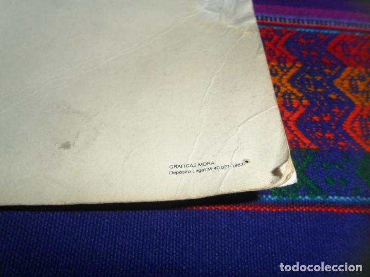 Coleccionismo deportivo: POSTAL GIGANTE REAL MADRID BALONCESTO 1983 1984 83 84. 30X42 CMS. GRÁFICAS MORA. MUY RARA. - Foto 3 - 195481615