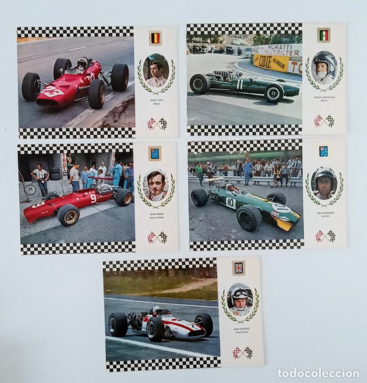 Coleccionismo deportivo: LOTE 9 POSTALES DE COCHES CARRERA GRAN PRIX - Foto 2 - 197182216