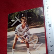 Coleccionismo deportivo: TUBAL JAVIER SENDIN CAMPEON DE ESPAÑA TENIS INFANTIL 1987 CLUB TORREJON POSTAL B55. Lote 198144446