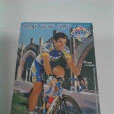 Coleccionismo deportivo: POSTAL ÓSCAR FREIRE GÓMEZ - MAPEI.. Lote 198416645