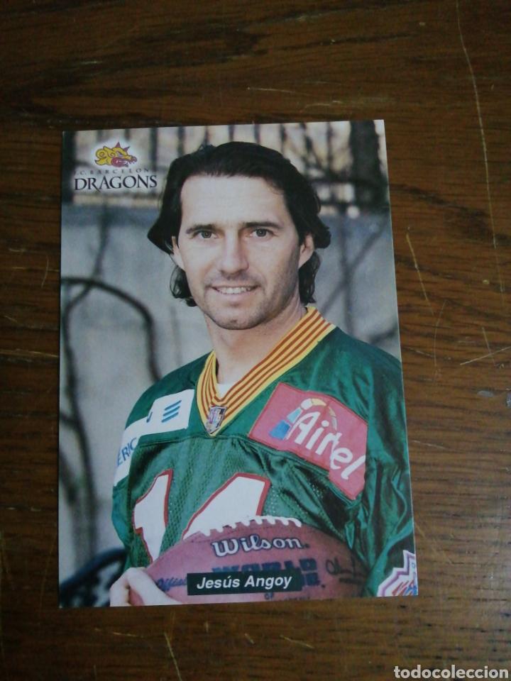 ANGOY F. C. BARCELONA DRAGONS (Coleccionismo Deportivo - Postales de otros Deportes )