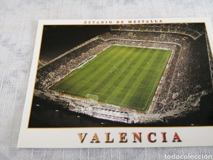 VALENCIA, ESTADO DE MESTALLA (Coleccionismo Deportivo - Postales de otros Deportes )