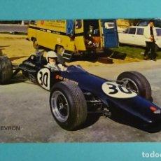 Coleccionismo deportivo: POSTAL. POSTALES VIKINGO. MONTJUICH 1968. CHEVRON FORMULA 3. CHRIS WILLIAMS. GRAN GRETAÑA. Lote 199282438