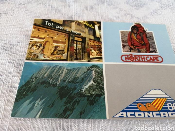 NORTH CAPE 80 ACINCAGUA (Coleccionismo Deportivo - Postales de otros Deportes )