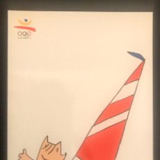 Coleccionismo deportivo: POSTAL VELA - COBI MASCOTA JUEGOS OLIMPICOS BARCELONA 1992. Lote 200277330