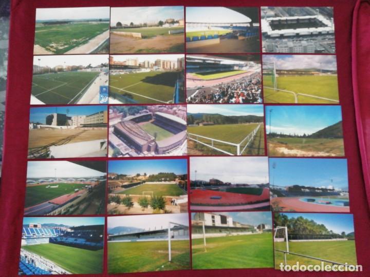 Coleccionismo deportivo: Colección 8ª edición de postales de estadios. Octubre 2005 - Foto 3 - 201210273