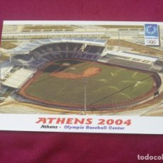 Coleccionismo deportivo: XXVIII OLYMPIC SUMMER GAMES. ATHENS 2004. OLYMPIE BASEBALL CENTER. Lote 268266349