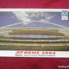 Coleccionismo deportivo: XXVIII OLYMPIC SUMMER GAMES. ATHENS 2004. SPYROS LOUIS OLYMPIE STADIUM. Lote 268266594