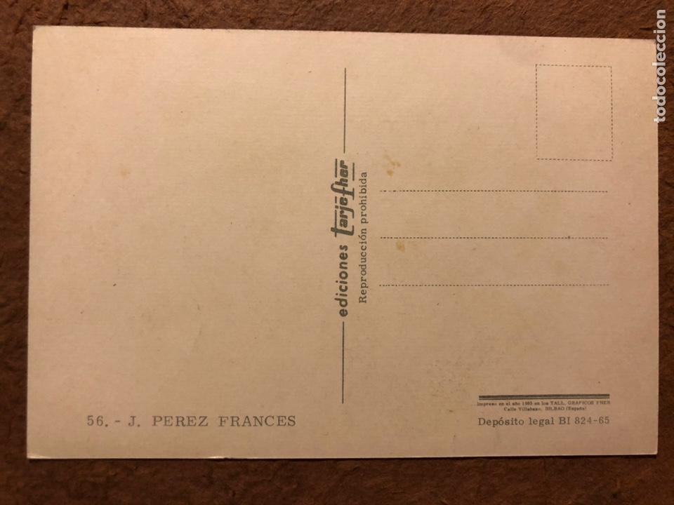 Coleccionismo deportivo: JOSÉ PÉREZ FRANCÉS. POSTAL SIN CIRCULAR EDICIONES TARJE FHER N° 56 (1965). CICLISMO. - Foto 2 - 201367246