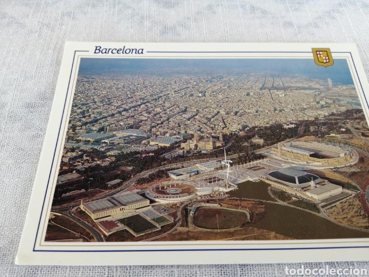 BARCELONA ANILLO OLÍMPICO (Coleccionismo Deportivo - Postales de otros Deportes )