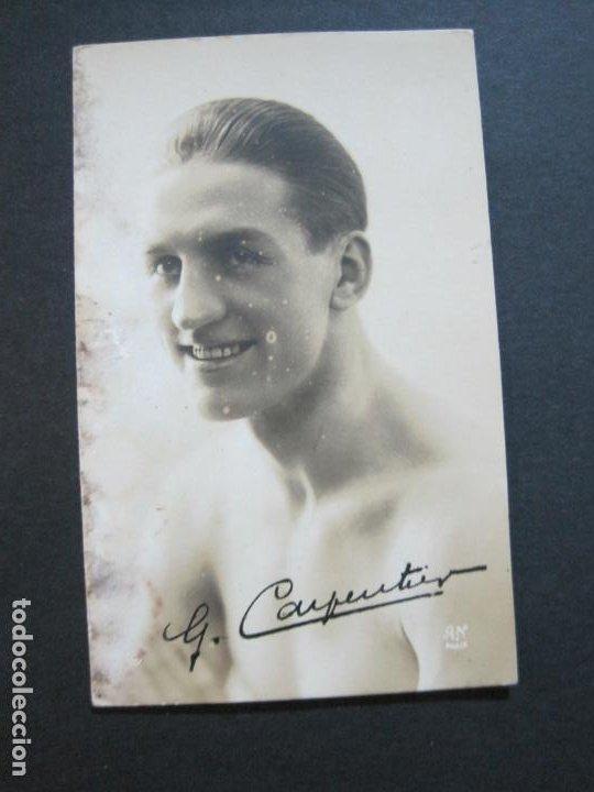Coleccionismo deportivo: CARPENTIER-BOXEO-POSTAL FOTOGRAFICA ANTIGUA-VER FOTOS-(69.186) - Foto 2 - 202347246