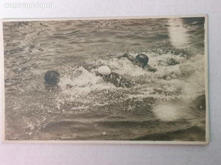 POSTAL FOTOGRÁFICA DE WATERPOLO AÑOS 30-40 (Coleccionismo Deportivo - Postales de otros Deportes )