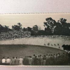 Coleccionismo deportivo: FOTOGRAFÍA DE UN VELODROMO ESPAÑOL AÑOS 40. Lote 204118178