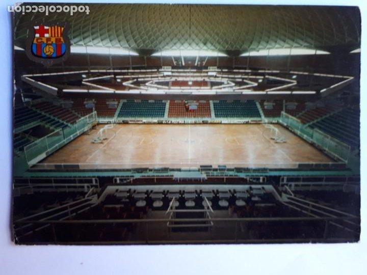 PALAU BLAUGRANA BARCELONA POSTAL (Coleccionismo Deportivo - Postales de otros Deportes )