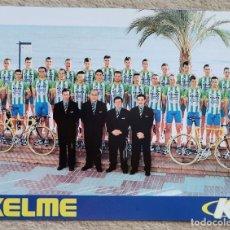 Coleccionismo deportivo: GRAN FORMATO (20 X 15) - EQUIPO KELME - CICLISMO. Lote 205291918