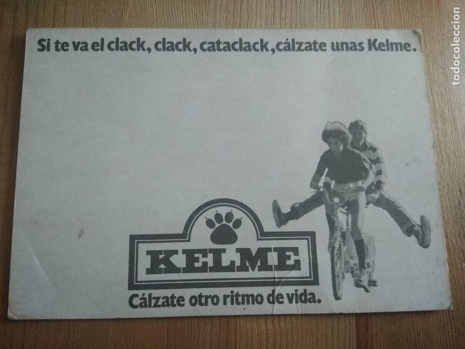 Coleccionismo deportivo: Postal ciclismo kelme Juan Fernández - Foto 2 - 205293105