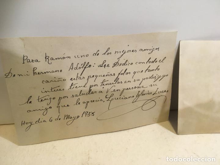Coleccionismo deportivo: 2 fotos de boxeador con nombre de Luciano Iglesias Lucas,Santurce ,Vizcaya,año 1954.nic - Foto 4 - 205667971