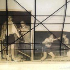 Coleccionismo deportivo: 2 FOTOS DE BOXEADOR CON NOMBRE DE LUCIANO IGLESIAS LUCAS,SANTURCE ,VIZCAYA,AÑO 1954.NIC. Lote 205667971