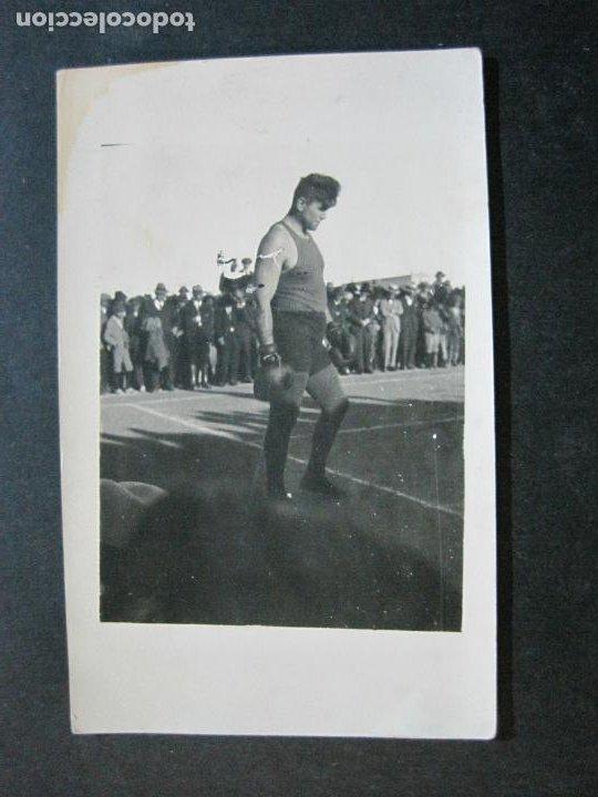 ANGEL FIRPO-BOXEADOR-FOTOGRAFICA-POSTAL ANTIGUA BOXEO-VER FOTOS-(71.128) (Coleccionismo Deportivo - Postales de otros Deportes )