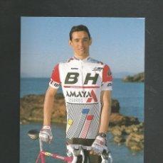 Coleccionismo deportivo: FOTO POSTAL CICLISMO MIGUEL ANGEL SERRANO EQUIPO AMAYA / BH. Lote 209916762