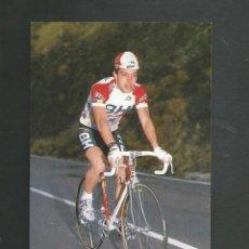 Coleccionismo deportivo: FOTO POSTAL CICLISMO J.C ROZAS EQUIPO BH. Lote 209916901