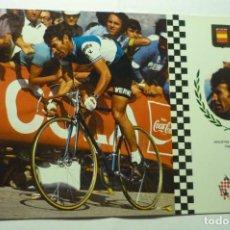 Coleccionismo deportivo: POSTAL CICLISMO AGUSTIN TAMAMES--ESCRITA. Lote 210429202