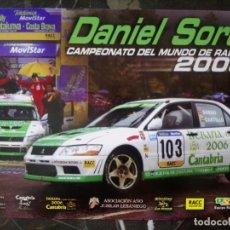 Coleccionismo deportivo: POSTAL RALLIE CAMPEONATO DEL MUNDO DANI SORDO 2003 RALLIES MITSUBISHI AUTOMOVILISMO. Lote 212194992