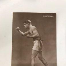 Coleccionismo deportivo: POSTAL BOXEADOR AÑOS 20 JIM MORAN CAMPEÓN. Lote 218633230