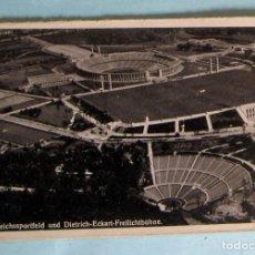 Coleccionismo deportivo: POSTAL BERLÍN. ESTADIO NACIONAL. REICHSSPORTFELD UND DIETRICH ECKART FREILICHBÜHNE.. Lote 221657416