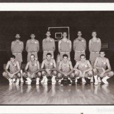 Coleccionismo deportivo: AMG-932 FOTOGRAFÍA CIBONA DE ZAGREB TEMPORADA 91-92. Lote 221791267