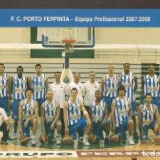 Coleccionismo deportivo: AMG-942 TARJETA POSTAL FC OPORTO PORTUGAL. Lote 221793808