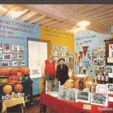 Coleccionismo deportivo: AMG-946 TARJETA POSTAL MUSEO DEL BASKET SPIANATE ITALIA. Lote 221794438