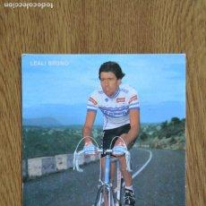 Coleccionismo deportivo: LOTE POSTAL CARRERA AÑOS 80 CICLISMO VUELTA ESPAÑA TOUR FRANCIA 1986 FOTO CICLISTA POSTALES. Lote 222427678
