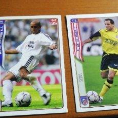 Coleccionismo deportivo: MUNDICROMO 2005. FICHA ROBERTO CARLOS. REAL MADRID.. Lote 222612675