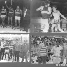 Coleccionismo deportivo: LOTE DE 6 FOTOS DE BOXEO EN ALGECIRAS FOTOGRAFOS SALCEDO Y HERMANOS MARTIN ALGECIRAS. Lote 224760470