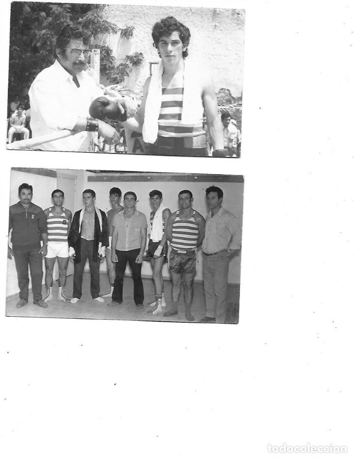 Coleccionismo deportivo: LOTE DE 6 FOTOS DE BOXEO EN ALGECIRAS FOTOGRAFOS SALCEDO Y HERMANOS MARTIN ALGECIRAS - Foto 2 - 224760470