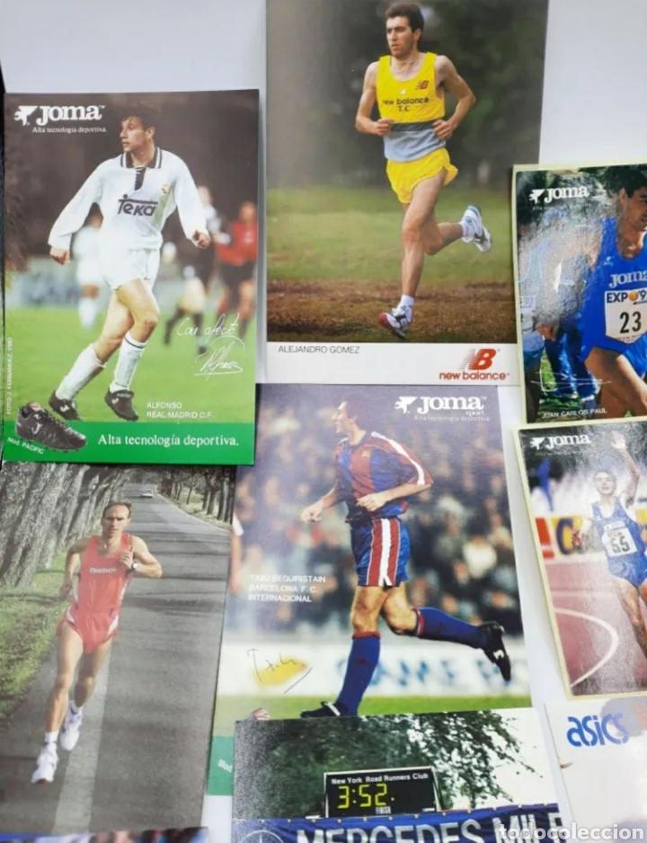 Coleccionismo deportivo: Lote de antiguas fotos imágenes y postales de deportistas - Foto 2 - 236071960
