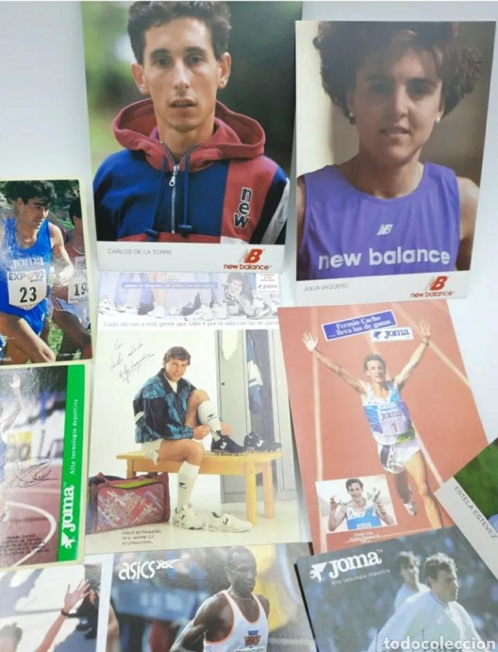 Coleccionismo deportivo: Lote de antiguas fotos imágenes y postales de deportistas - Foto 3 - 236071960